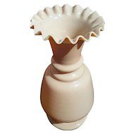 Victorian 'Bristol' glass opaline vase