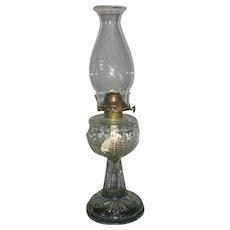Kerosene Oil Lamp - Turkey Foot Pattern