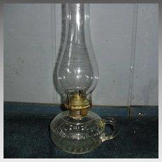 Kerosene Oil Finger Lamp - Dogtooth Pattern