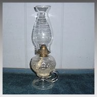 Atterbury Kerosene Oil Hand Lamp - Ohio Pattern