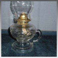 Riverside Kerosene Oil Footed Hand Lamp