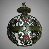Spanish Revival Pendant Light Fixture - 2 available