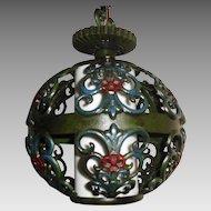 Spanish Revival Pendant Light Fixture