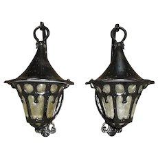 Tudor or Bungalow Style Porch Lights / Sconces
