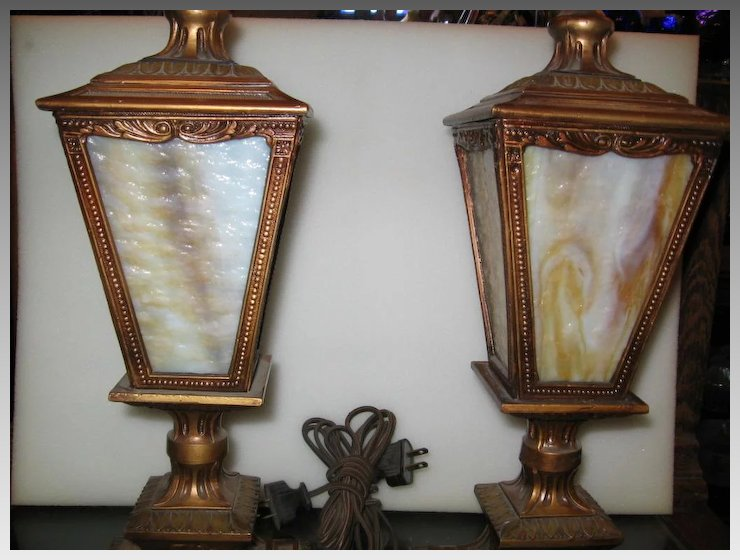 neoclassical lighting. Neoclassical Entry Or Mantle Lights W Slag Glass Panels Neoclassical Lighting