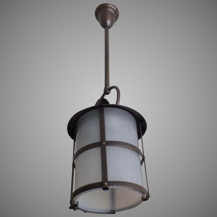 Arts And Crafts Entry Hall Pendant Light
