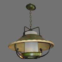 Large Monterey Style Hanging Lantern Pendant Light