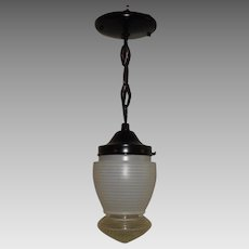 John C. Virden Mid Century Modern Pendant Light - 3 available