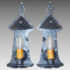Spanish Colonial Iron Wall Sconces
