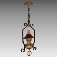 Vintage Monterey Style Lantern Pendant Light