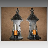 Spanish Colonial Iron Wall Sconce Lights