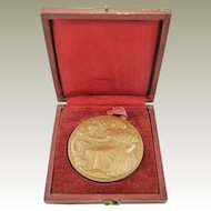 French Bronze Medal in Original Presentation Case Agriculture Viticulture