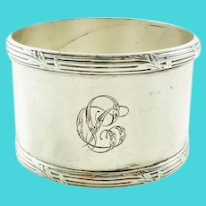 French Sterling Silver Puiforcat Napkin Ring