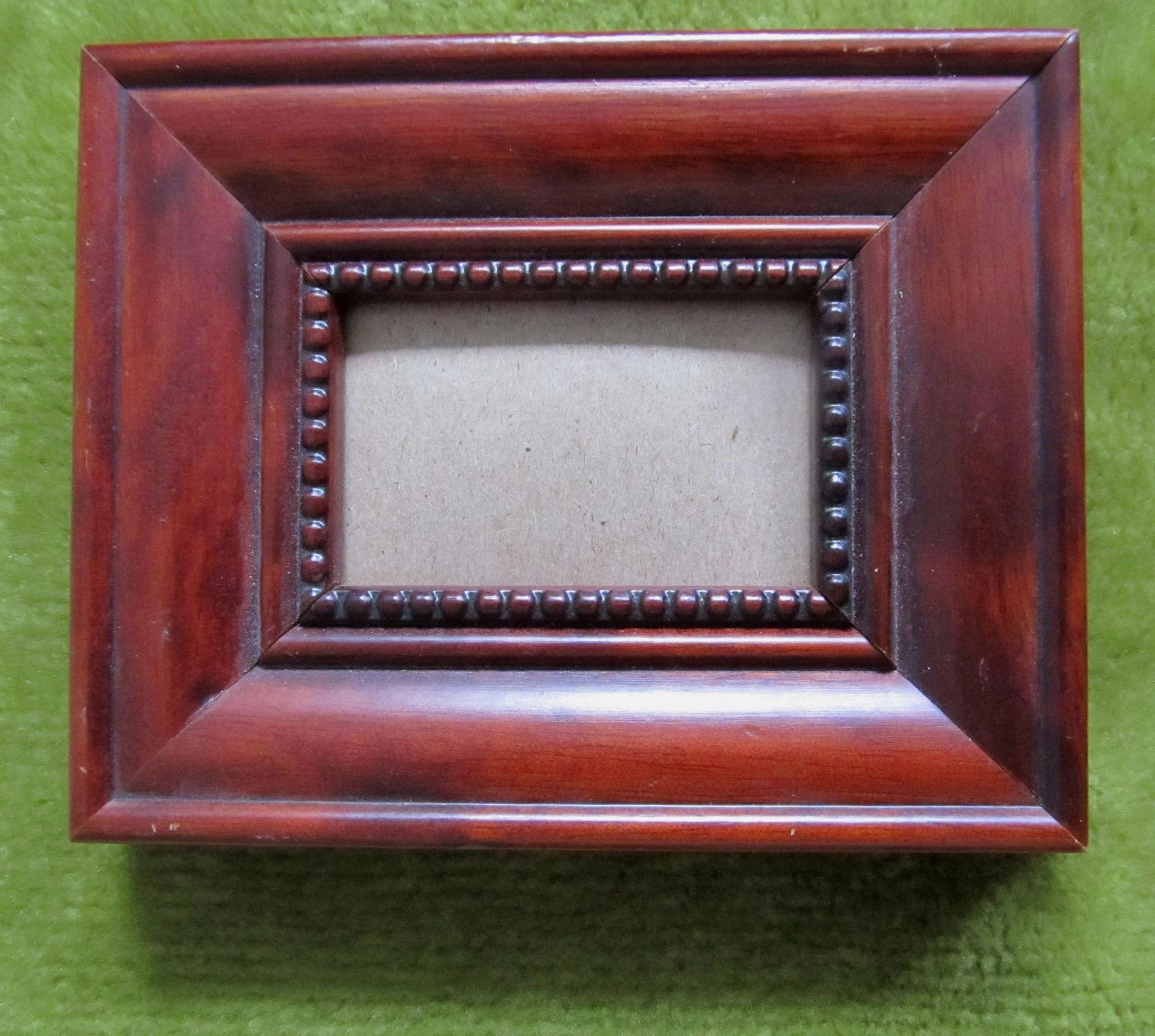 antique wood picture frames. 4 Vintage Miniature Wooden Frames SO CHARMING! Click To Expand Antique Wood Picture O