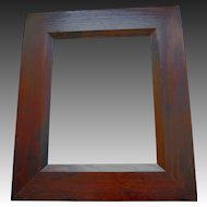 Vintage MASSIVE Dark Pine Frame for 11 x 14 SPECTACULAR wIth Any Artwork!