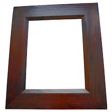 Vintage MASSIVE Dark Pine Frame 11 x 14 SPECTACULAR wIth Any Artwork!