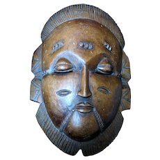 Vintage XX Eames Mid Century African Mask Ethiopia RARE STUNNING!