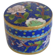Enamel box in Cloisonne technique, early 20th century