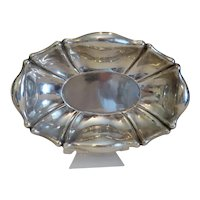 Antique Viennese silver bowl, 19th century