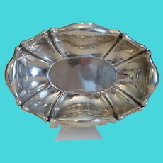 Antique Viennese silver bowl, 19th century