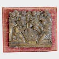 Antique Alabaster relief, ca. 1700