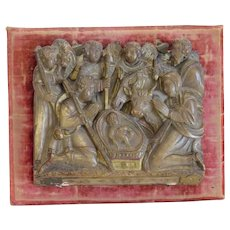 Antique Alabaster relief, ca. 1700