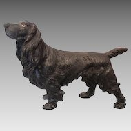 Lovely Vienna Bronze figure by Bergmann modelled as a Spaniel, early 20th century