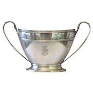 English silver sugar bowl,signed James Dixon&Sons,19th century