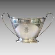 English silver sugar bowl,signed James Dixon&Sons,19th century