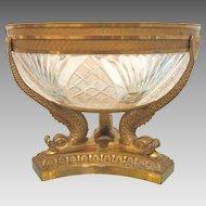 French Napoleon III Gilt Bronze bowl, ca.1860