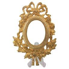 French Gilt Bronze frame,19th century