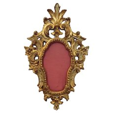 Antique Gilt wood frame, early 19th century