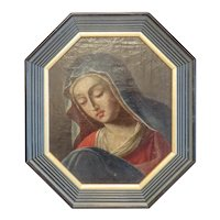 Antique Italian oil painting, 19th century