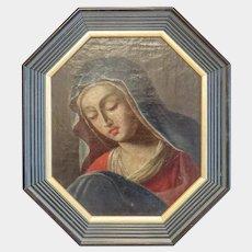 Antique Italian oil painting, 19th century
