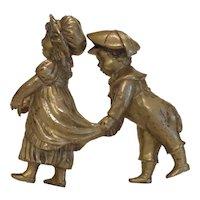 Antique Gilt Bronze figures, 19th century