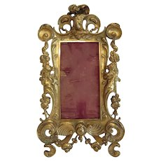 Antique Gilt Bronze frame, early 19th century