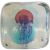 Murano glass block aquarium, ca. 1960