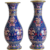 Antique pair of Cloissone vases, 19th century