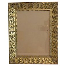 Antique gilt wood frame, 19th century