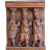 Antique lime wood half relief, 19th century