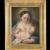 Antique Italian oil painting , 19th century