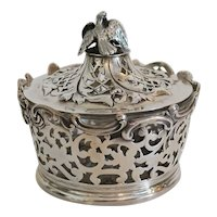 Antique English sugar bowl, London 1838