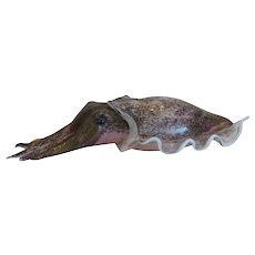 Vintage Murano cuttlefish figure, 20th century