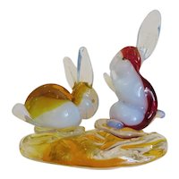 Vintage Cenedese art glass sculpture, ca. 1950