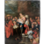 Antique painting oil on copper, 18th century