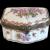 Vintage porcelain trinket box, early 20th century