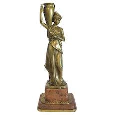 Antique French Gilt Bronze sculpture, 19th century