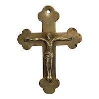 Antique Orthodox Russian crucifix, 19th century