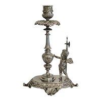 Victorian Cherub candlestick, 19th century