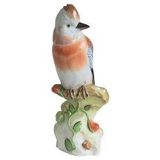 Vintage Herend porcelaine Jay Bird figure, ca. 1960